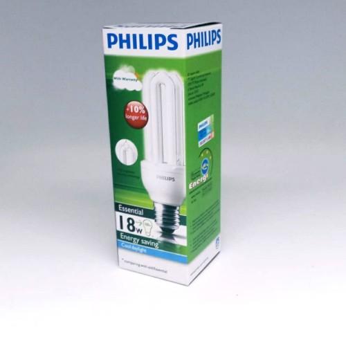 Foto Produk Lampu Philips Essential 18W Putih 18 w 18 watt 18watt dari Makmur Sejahtera Kenari