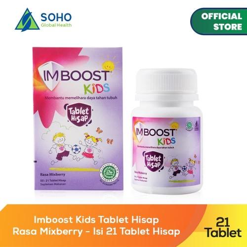 Foto Produk Imboost Kids Tablet Hisap Chewy - Isi 21 Tablet dari Soho Global