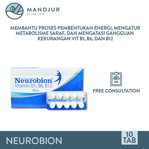 Foto Produk Neurobion - Suplemen Kesehatan Saraf dari mandjur