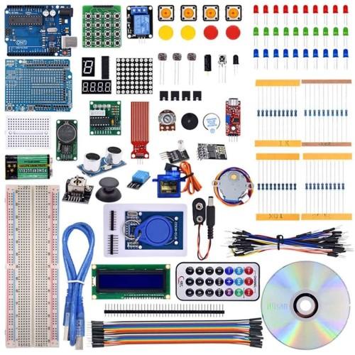 Foto Produk Arduino Uno R3 Compatible Starter Kit Paket RFID Free CD Progam dari Beetrona