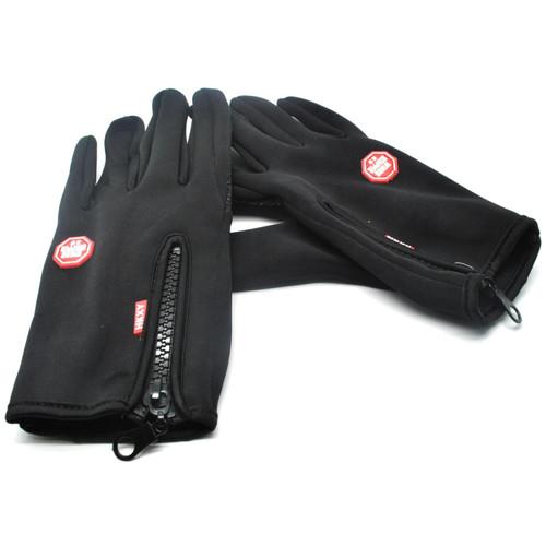 Foto Produk Sarung Tangan Full Finger MTB Sepeda Motor Gunung Anti Slip Soft HKXY - M dari REDWIRE