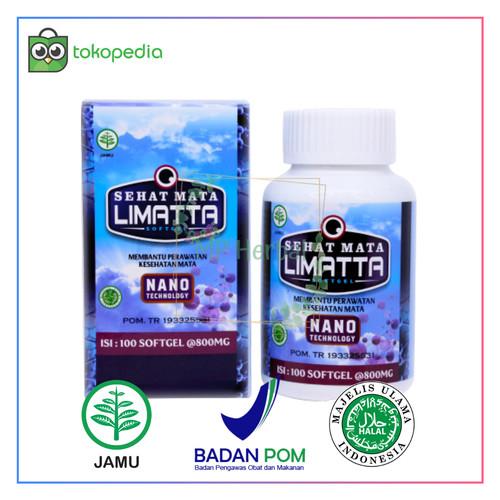 Foto Produk Sehat Mata Limatta Softgel 100% Asli-Obat Permasalahan Mata-Katarak dari MP Herbal