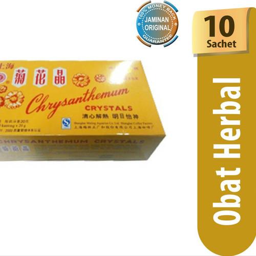 Foto Produk Chrysanthemum Tea / 10 Sachet / Tea Herbal / Tea dari Orvin Health & Beauty