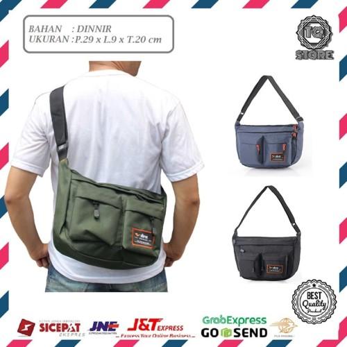 Foto Produk Tas Sling bag Pria / Tas selempang pria Outvin Murah - Hitam dari TQSTORE9