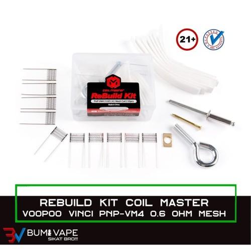 Foto Produk RBK PNP-VM4 0.6 MESH - ReBuild Kit Coil VOOPOOVINCI AIR DRAG S / X dari bumivape