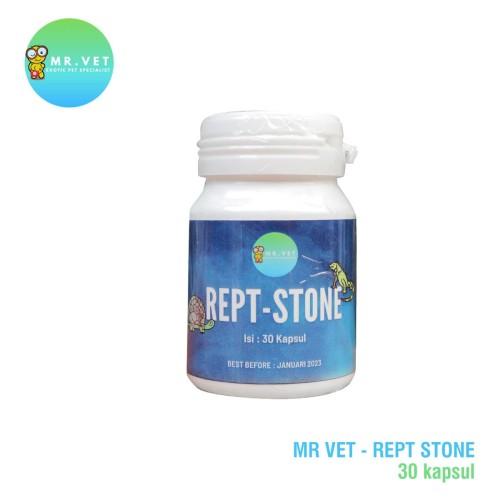 Foto Produk REPT-STONE obat bladder stone reptile reptil torto (isi 30 tablet) dari Java Reptile