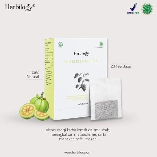 Foto Produk Slimming Tea @20 Tea Bag - Herbilogy -Teh Pelangsing dari Biang Laris