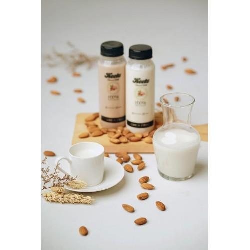 Foto Produk Keetz Almond Milk Coklat / Susu Almond Homemade 250ML - Cokelat dari Fuma Tour