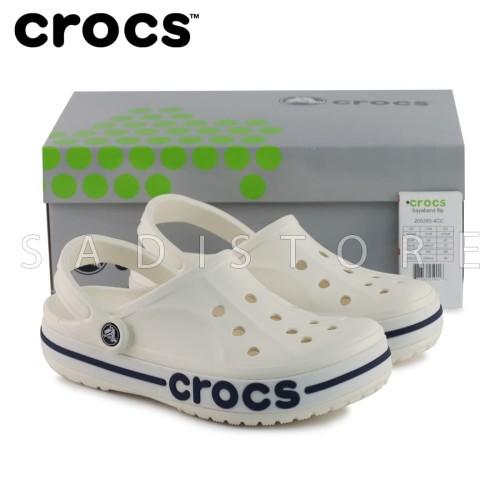 Foto Produk Crocs Bayaband Clog Original Sandal Pria dan Wanita Unisex - White dari Crocs Dan Fitflop