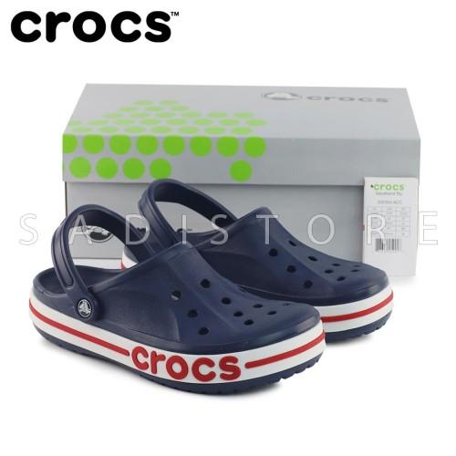 Foto Produk Crocs Bayaband Clog Original Sandal Pria dan Wanita Unisex - Navy dari Crocs Dan Fitflop