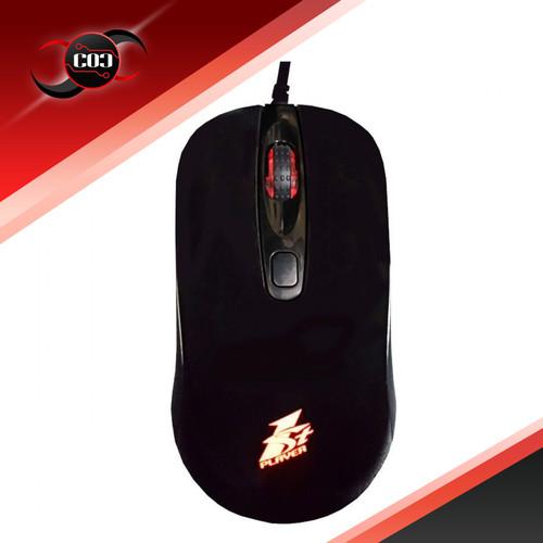 Foto Produk 1STPLAYER Gaming Mouse FIREDANCING GM3 - White / Black - RGB Effect dari COC Komputer