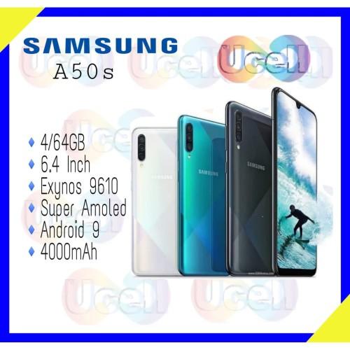 Foto Produk Samsung Galaxy A50s - 4GB/64GB - Garansi Resmi - Putih dari ucell cempaka