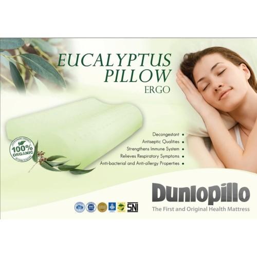 Foto Produk Dunlopillo Bantal Latex Ergo Eucalyptus ( Kayu Putih ) Anti Bacterial dari DUNLOPILLO