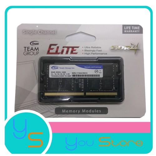 Foto Produk Team Elite Sodimm DDR4 2400 8GB dari Yoestore