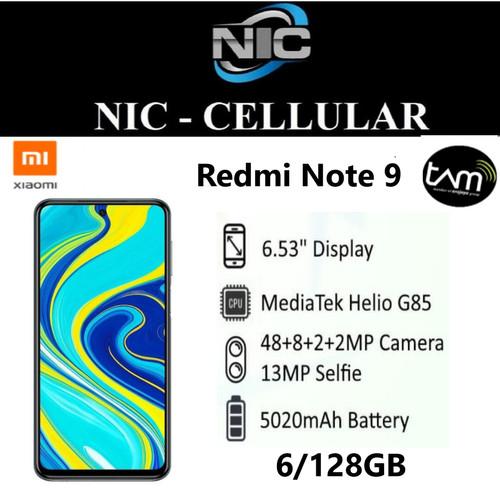 Foto Produk Xiaomi Redmi Note 9 6/128 RAM 6GB ROM 128GB GARANSI RESMI XIAOMI dari Nic-cell