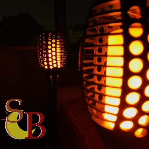 Jual Lampu Obor Api 51 Led Tenaga Surya Lampu Taman Tancap Otomatis Mini Jakarta Pusat Sinar Cahaya Bersama Tokopedia