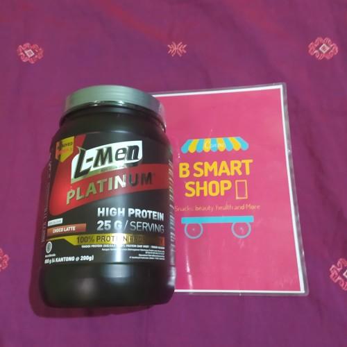 Foto Produk L-Men PLATINUM (Nutrition For Men) 800 gr. Rasa Choco Latte dari B Smart Shop