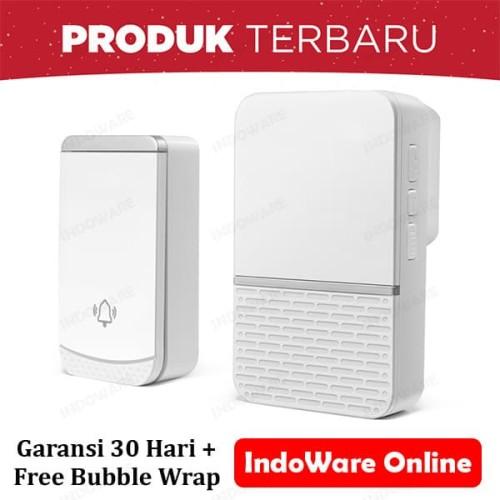 Foto Produk Bel Rumah Wireless Door Bell Waterproof Pintu 1 Receiver dari Indoware Online
