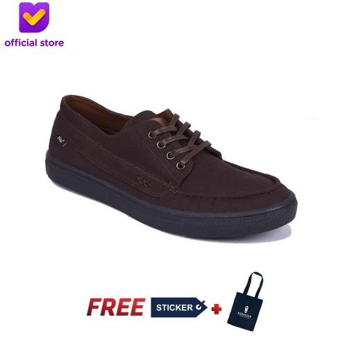 Foto Produk SEPATU SNEAKERS PRIA FOOTSTEP FOOTWEAR – ETERNAL DARKBROWN - Cokelat, 44 dari Footstep Footwear