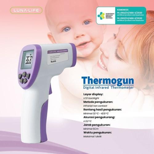 Foto Produk Termometer Non Kontak Infrared Garansi Resmi LUNA LIFE HEALTH dari Luna Life Health