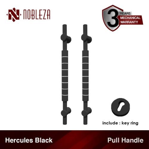 Foto Produk NOBLEZA Hercules Hitam 60 cm Pull Handle Gagang Tarikan Pintu Rumah dari Nobleza Hardware