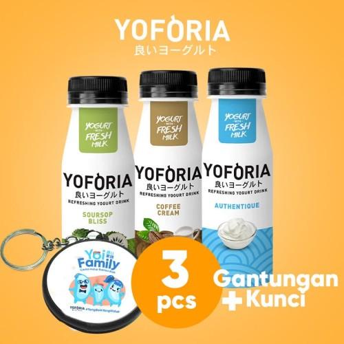 Foto Produk Yoforia Yogurt Drink 3 in 1 dari Yoforia Official Store