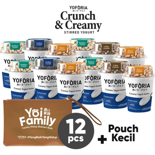 Foto Produk Crunch and Creamy 12 in 1 dari Yoforia Official Store
