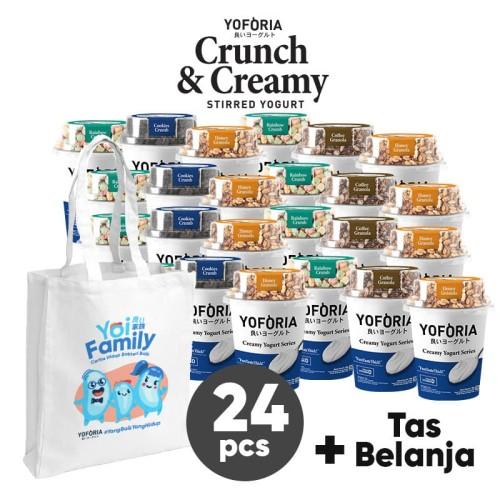 Foto Produk Crunch and Creamy 24 in 1 dari Yoforia Official Store