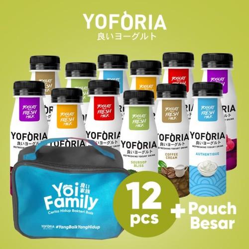 Foto Produk Yoforia Yogurt Drink 12 in 1 dari Yoforia Official Store