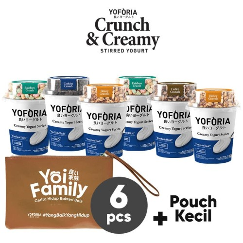 Foto Produk Crunch and Creamy 6 in 1 dari Yoforia Official Store