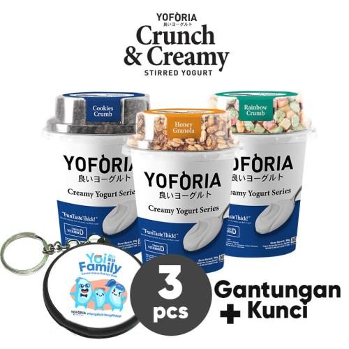 Foto Produk Crunch and Creamy 3 in 1 dari Yoforia Official Store