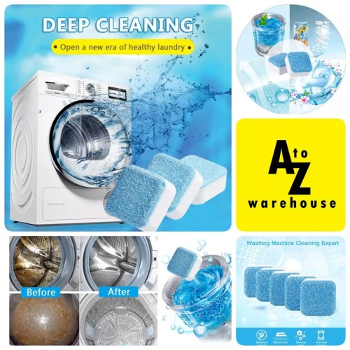 Foto Produk Sabun Pemersih Kotoran Mesin Cuci Washing Machine Soap Cleaner dari AtoZ Warehouse