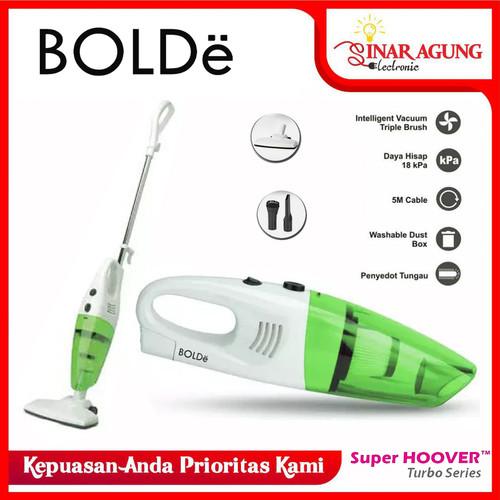 Foto Produk Vacuum Cleaner SUPER HOOVER TURBO BOLDe 2 In 1 100% ORI - Hijau dari sinar agung electronic