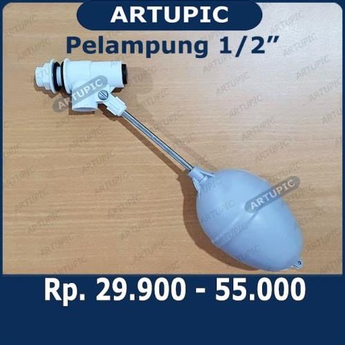 Foto Produk Pelampung Air 1 per 2 Inch PVC Floating Floater 1-2 inch dim dari ArtupicPeralatanPeternak