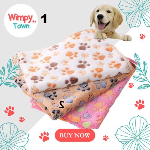 Foto Produk kandang anjing bantal anjing pet bed kasur kucing tempat tidur kucing - Putih dari Wimpy Town