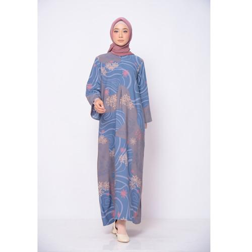 Foto Produk ZM Zaskia Mecca - Luny Navy Dress - Jelita Indonesia - Edisi Maluku - S dari Zaskia Mecca Official