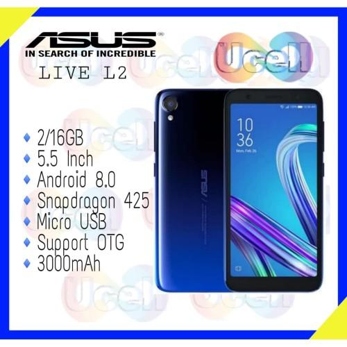 Foto Produk Asus Zenfone Live L2 ZA550KL - 2GB/16GB - Garansi Resmi dari ucell cempaka