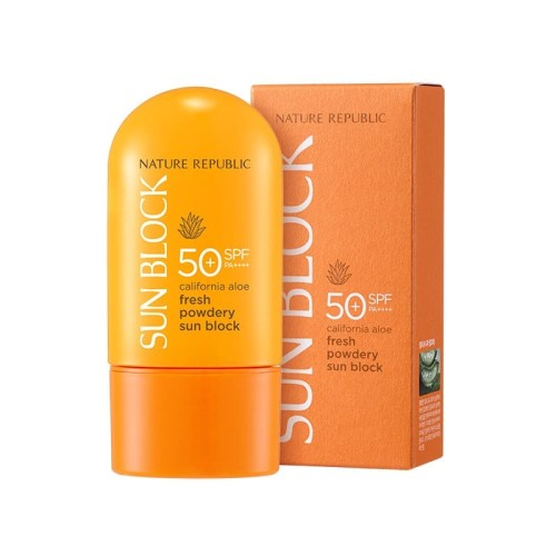 Foto Produk NATURE REPUBLIC CALIFORNIA ALOE FRESH POWDERY SUN BLOCK SPF50+PA++++ dari NATURE REPUBLIC OFFICIAL