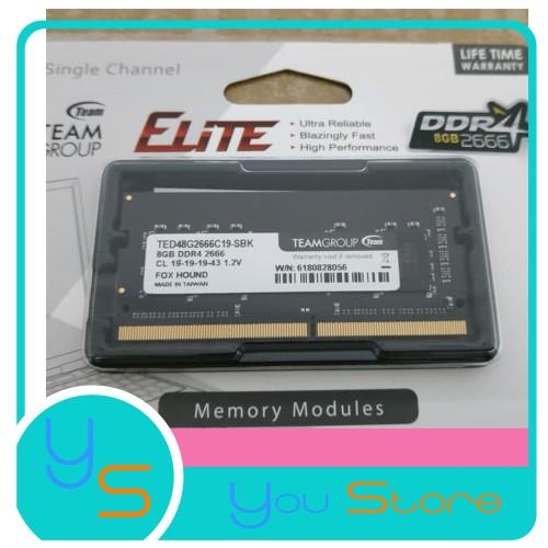 Foto Produk Team Elite Sodimm DDR4 2666 8GB PC21000 dari Yoestore