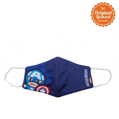 Foto Produk Character Land - Marvel Masker Kain Anak Laki Laki Captain America dari Characterland