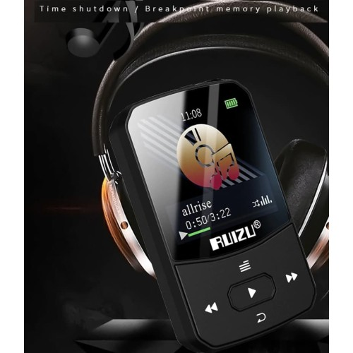 Foto Produk Original RUIZU X52 8Gb BLUETOOTH Sport MP3 Player DAP TF FM Pedo V X50 dari digitalworld