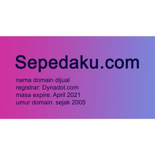 Foto Produk Sepedaku.com - Nama Domain Dijual dari Pusat Domain