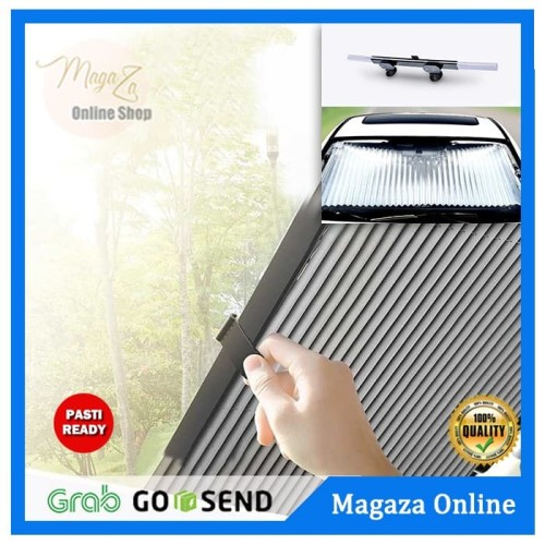 Foto Produk Tirai Penutup Kaca Mobil Matahari Car Sun Block Curtain 70cm dari Magaza Online
