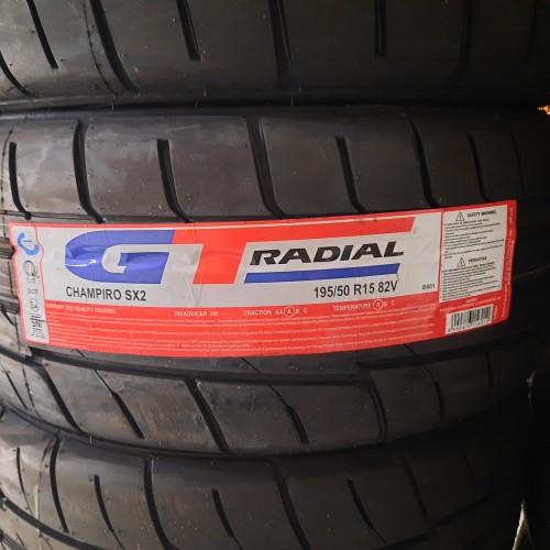 Foto Produk Ban GT Radial 195/50/R15 champiro SX2 semi slick dari Sentra Ban