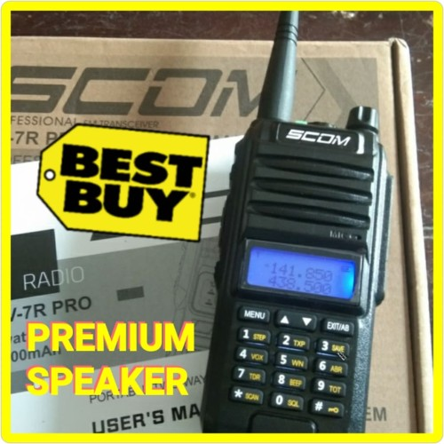 Foto Produk HT SCOM UV7R PRO bukan HT baofeng uv5r uv6r uv9r handy talky dari Innovations-shop