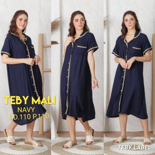 Foto Produk daster arab/india/dubai/turki teby tunik mali dress piyama busui dari murmershops & fashion