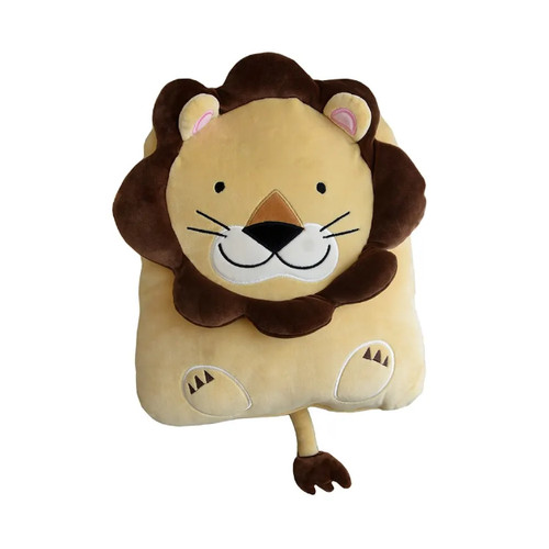 Foto Produk [BUY 1 GET 1] BANTAL CUSHION MOTIF LION dari Pet Kingdom