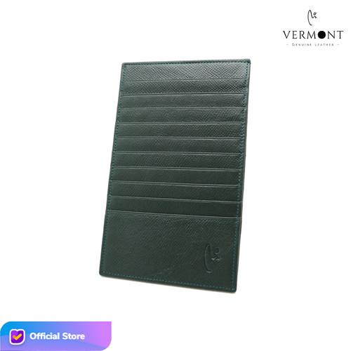 Foto Produk Card Holder Kulit Asli VERMONT V83 - K004 Original - Wanita - Luxury Green dari VERMONT LEATHER