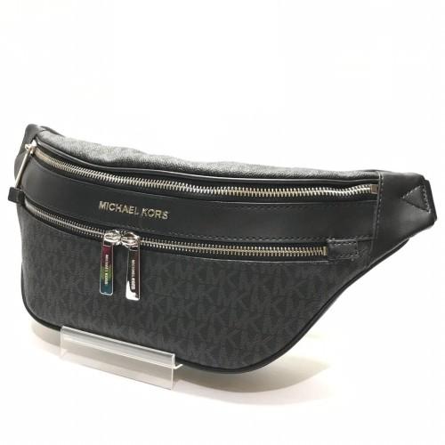 Foto Produk Ready Mk Kenly Medium Waist Pack CrossBody Signature Balck dari ferliarj16