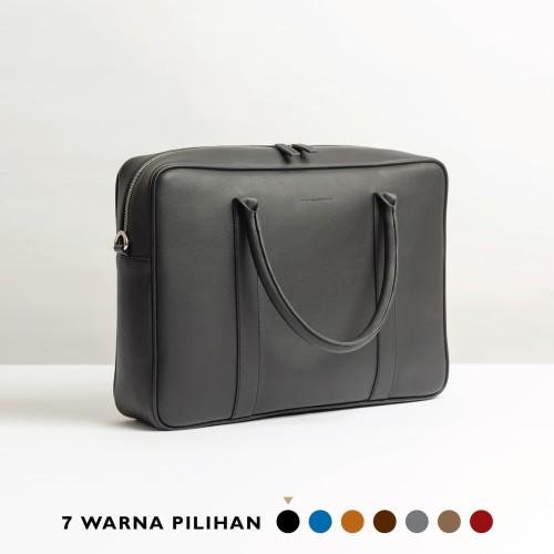 Foto Produk Stefan - Benotti Briefcase Bag / Tas Laptop - Brown dari Stefan Severin